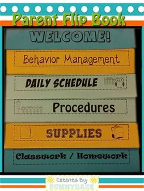 Back To School Night Back To And Colored Paper On Pinterest Parent Handbook Template