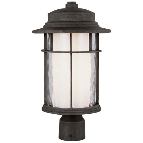 Replace Outdoor L Post by Trans Globe Lighting 174 Opal Chimney 18 Quot Outdoor Post Top