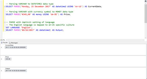 sql xml query tutorial difference between cast convert and parse function in