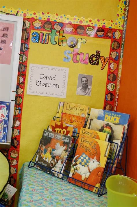 24 best images about bulletin boards on author 9 best images about author study on author