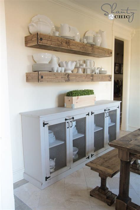 Diy Dining Room Server Diy Sideboard Shanty 2 Chic