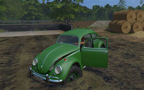vw  road buggy car   farming simulator   mod