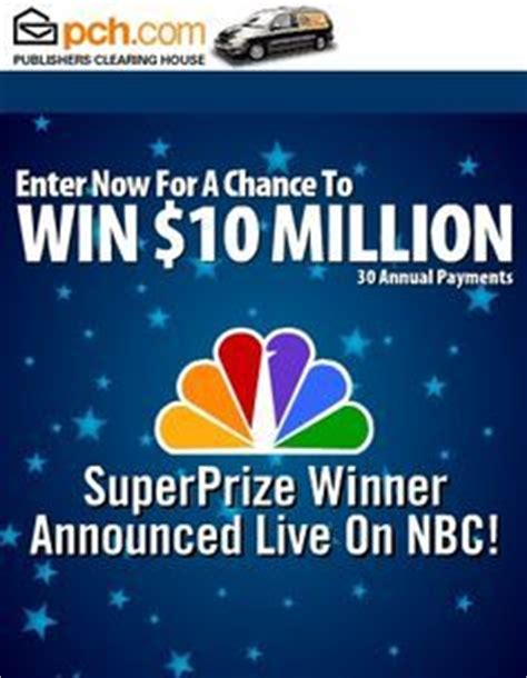 Enter Pch Sweepstakes - pch sweepstakes enter to win the 10 000 000 00 publishers clearing house