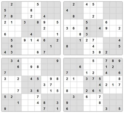 printable sudoku quizzes 10 best images about sudoku puzzle on pinterest brain