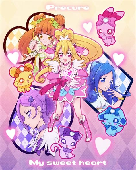 222 best images about Precure on Pinterest   Spotlight, Scarlet and Flora