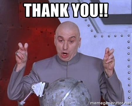 Austin Powers Meme Generator - thank you dr evil air quotes meme generator