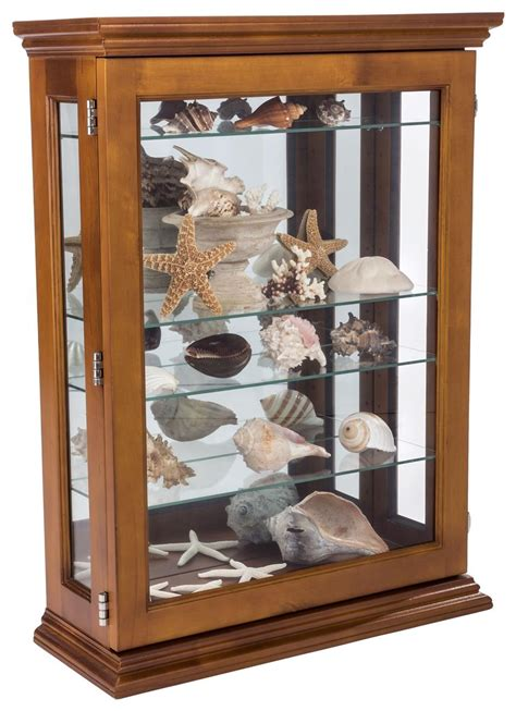 what goes in a curio cabinet economical oak curio cabinet wall mount or countertop