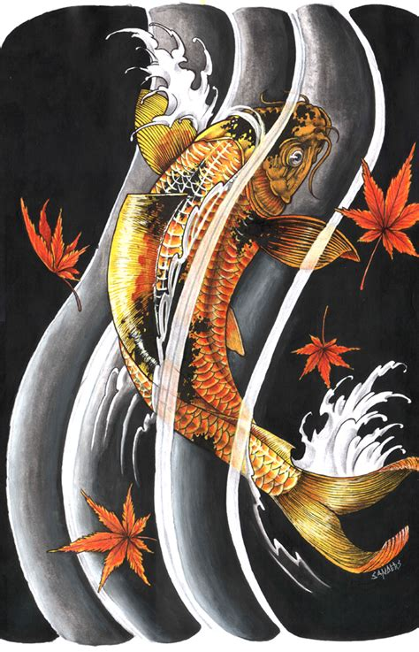 tattoo design fish koi gallery koi fish meaning