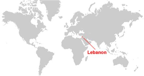 lebanon on world map lebanon map and satellite image