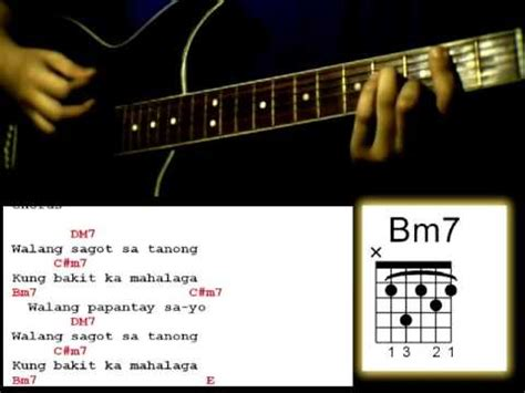 tutorial guitar dahil sayo sud sila guitar tutorial lesson easy strumming