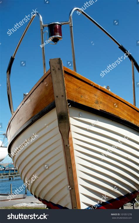 what is the front part of a boat called details of the front part of a prow of a wooden yacht boat