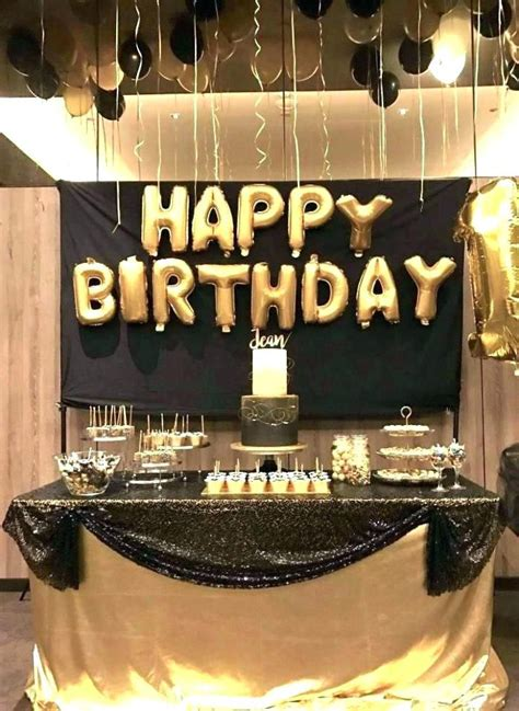 image result   birthday party ideas  men gold