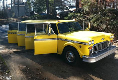 Taxi Limousine by 1976 Checker Aerobus Checker Taxi Limousine Groosh S Garage