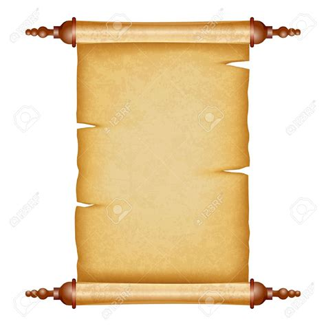 Schriftrolle Vorlage by Ancient Letter Roll Clipart Clipartxtras