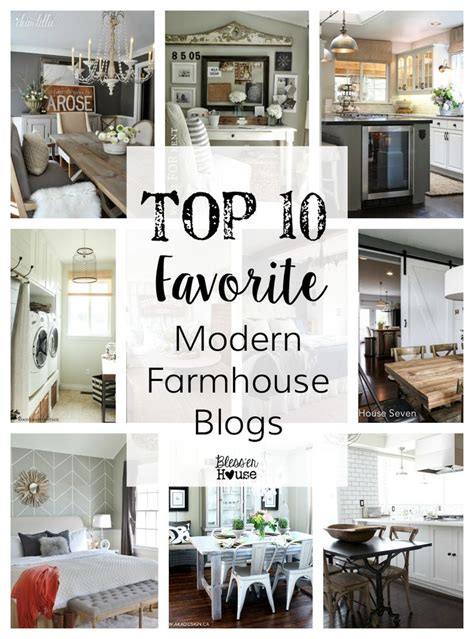 modern farmhouse style decorating top 10 favorite blogger home tours a well modern