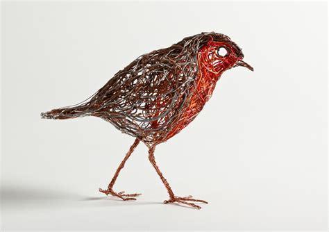 And Bird Sculptures bird sculptures made of wire by celia smith spire