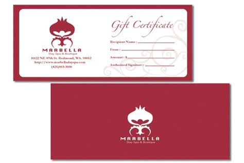 Make Gift Cards For My Business - business gift certificates uprinting com