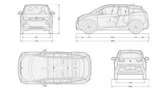 Bmw I3 Dimensions 2013 Bmw I3 Autos Gallery