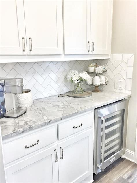 white tile kitchen backsplash small kitchen tile backsplash white ideas pictures