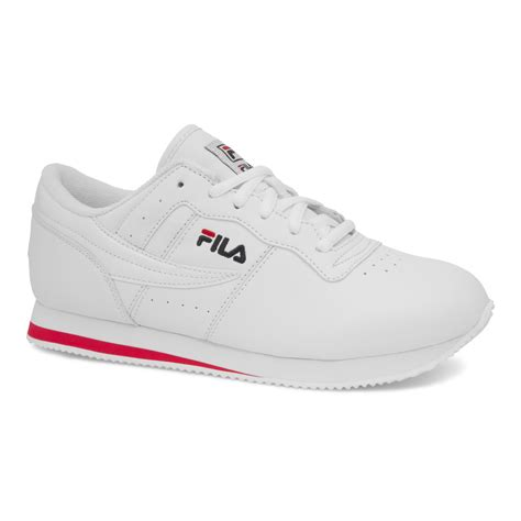 sears womens athletic shoes fila s machu athletic shoe white