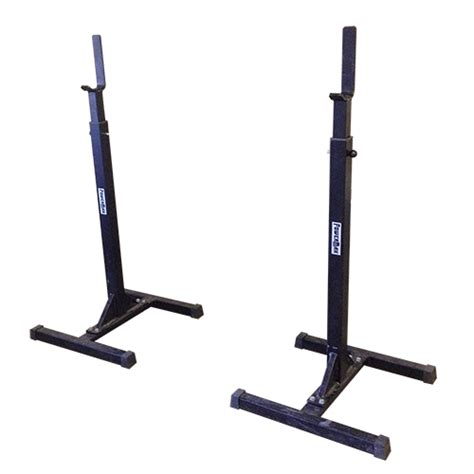 powermax flat bench independent squat rack by powermax for weightlifting and