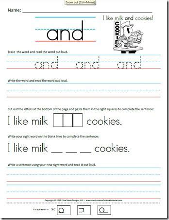 free printable tracing sentences worksheets free kindergarten sight word worksheets confessions of a