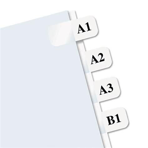 printable alphabet tabs redi tag 39000 laser printable index tabs 7 16 x 1 white