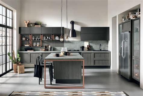 Cucina Nera E Legno by Cucina In Legno Roma Fatti Soprendere Da Roma Arredamenti