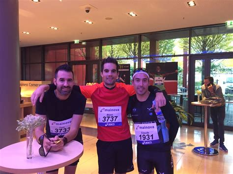 Lu Mobil Wurth Frankfurt Marathon New Pb For C Wurth X3m Triathlon
