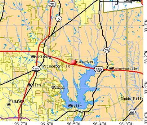princeton texas map princeton texas tx 75407 profile population maps real estate averages homes statistics
