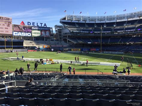 nys section 4 football yankees seating chart section 128 yankee stadium main