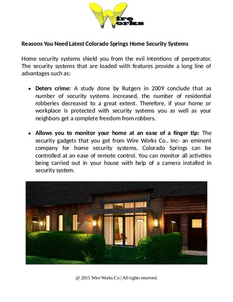 invest in colorado springs home security systems for