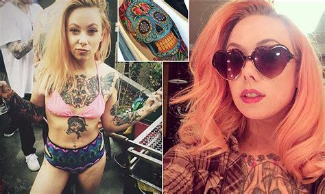 tattoo artist megan massacre rose above fierce criticism