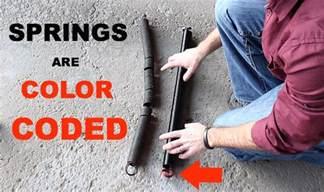 Garage Door Extension Springs Color Code Garage Door Extension Cable Replacement Garage