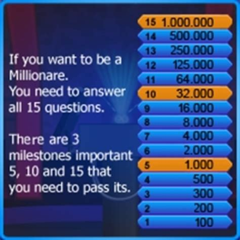 do you want to be a millionaire template who wants to be a millionaire java2me