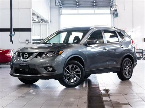 grey nissan rogue 2016 nissan rogue sl all wheel drive premium grey