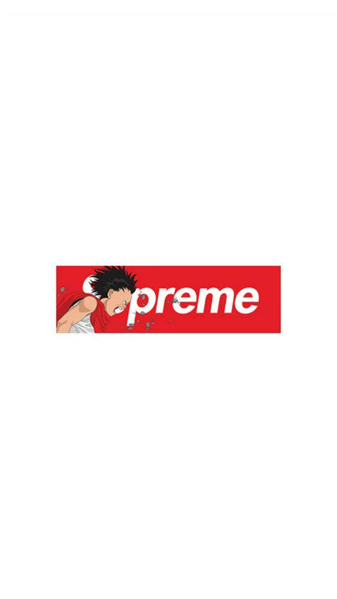 wallpaper for iphone supreme supreme x akira iphone wallpapers download here