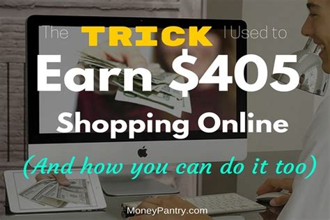 Do Online Stores Make Money - the trick i used to earn 405 shopping online last year how you can do it too