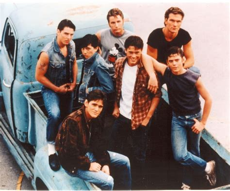 film tom cruise rob lowe patrick swayze the greasers from francis ford coppola s quot the outsiders