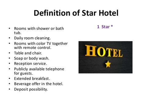 definition of room in hotel tourism hotel industry