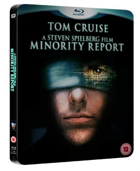 minority report blu ray review steven spielberg tom cruise gt minority report limited edition steelbook with artcards