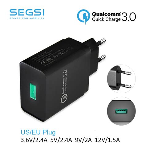 Vivan Charge 3 0 Qualcomm 3 0 Travel Charger Adapter for qualcomm charge 3 0 18w charge 3 0 18w travel wall fast charger eu us for