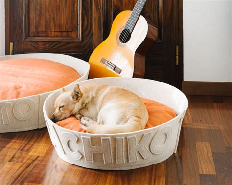 custom dog bed naps design modern personalized dog beds 6 dog milk