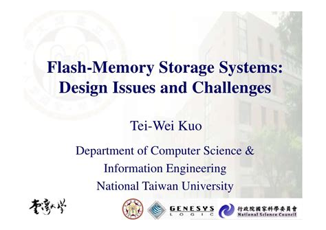 design issues flash memory storage systems design issues and challenges