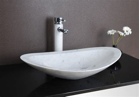 Modern Basins Bathrooms Nero White Marble Basin Modern Bathroom Basins Brisbane By Deko