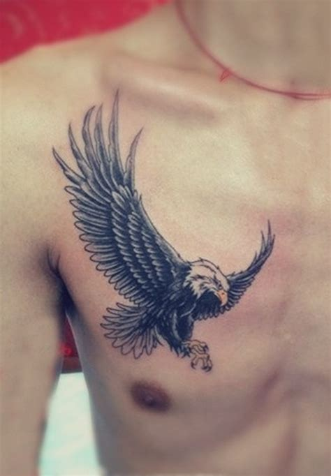 small eagle tattoo eagle chest designs ideas and meaning tattoos