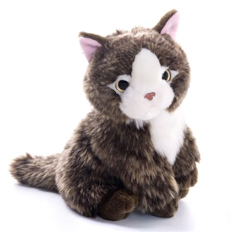 Cat Doll by Plush Cat Toys Lovely Simulation Cat Doll Kitten Sitting