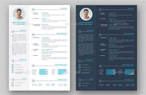 Best Free Resume Templates 2016 by 35 Best Resume Templates Of 2016 Dzineflip