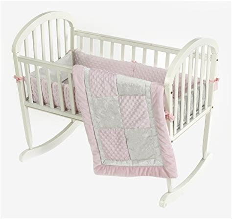 Baby Doll Bedding Sets Baby Doll Bedding Croco Minky Cradle Bedding Set Pink Ivory Babiesme Babiesme