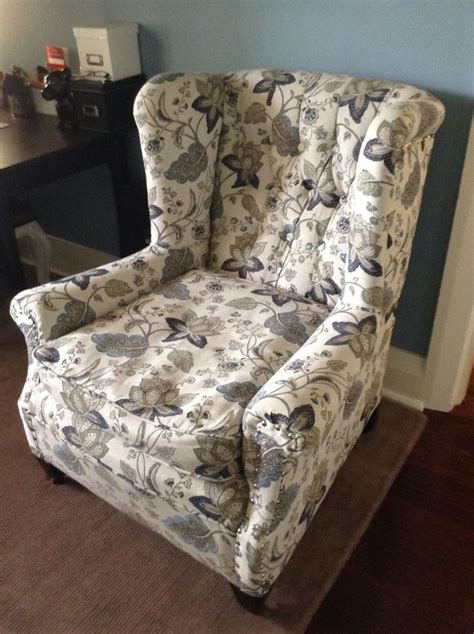 warwick fabrics evelyn denim upholstered belle chambre decorating  fabrics  work